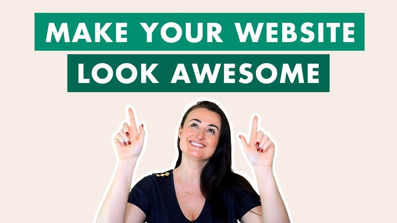 How to make your website look awesome