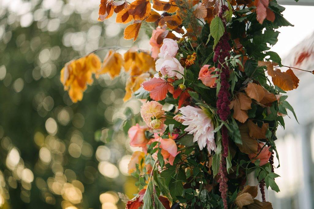 Summer Flower Arch Closeup