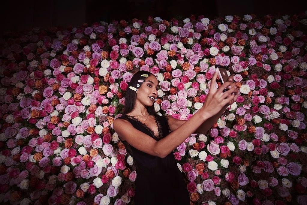 Event Flower Wall