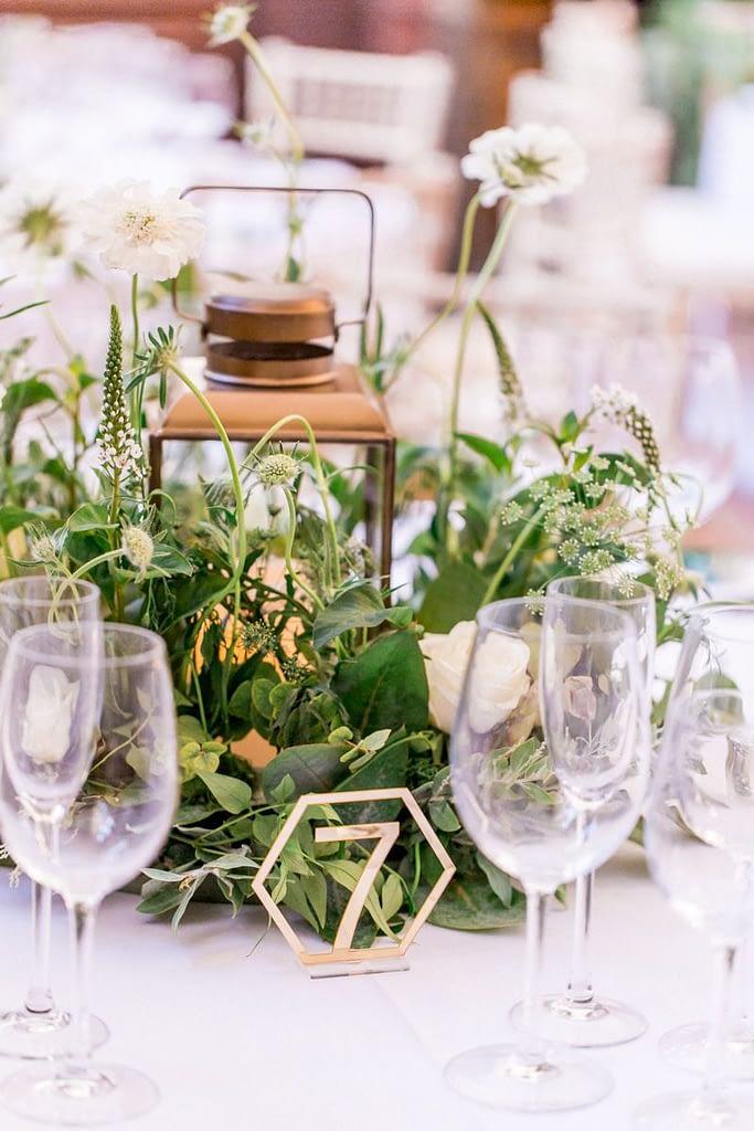 Wedding Centrepiece with Lantern