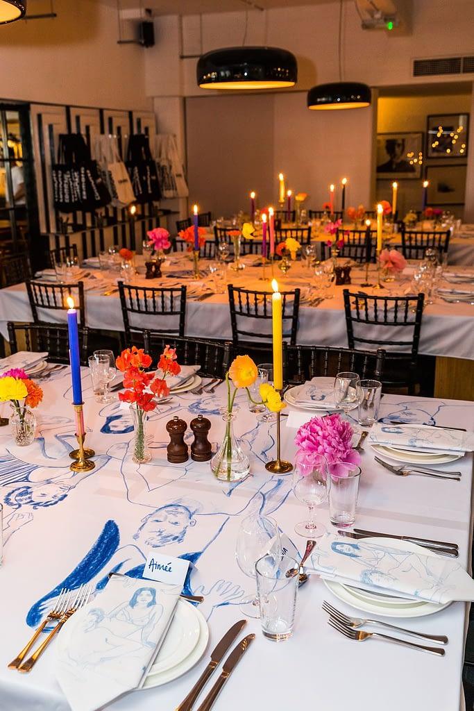 Artist Event Table Decoration