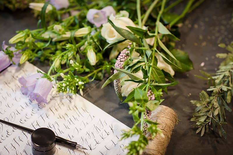 Caligraphy and Flower Arranging Masterclass in London