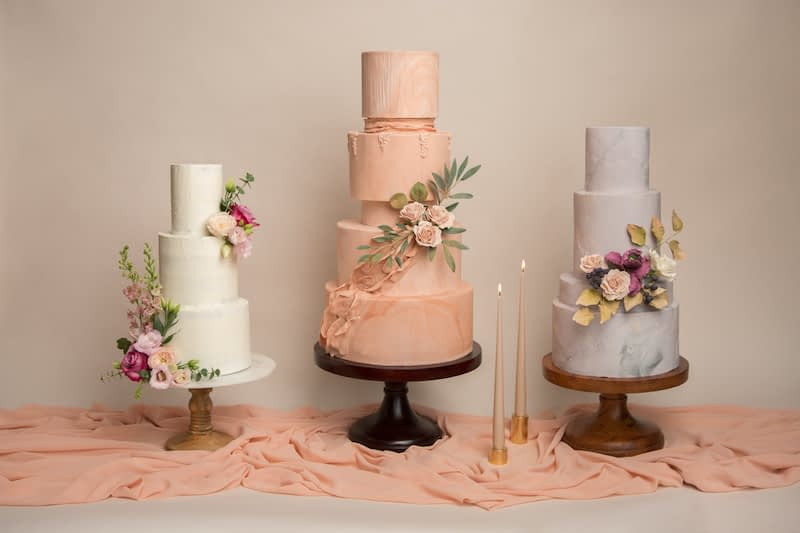Blossom and Crumb cake designs