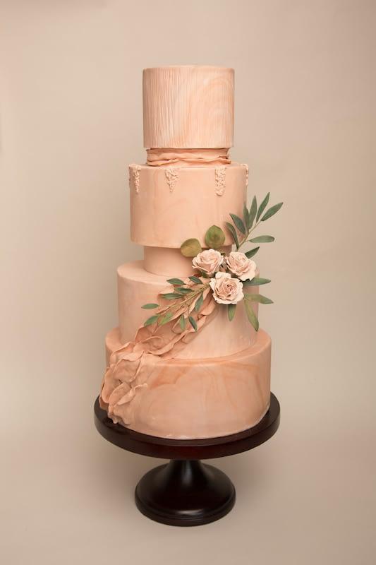 Blossom and Crumb cake sample