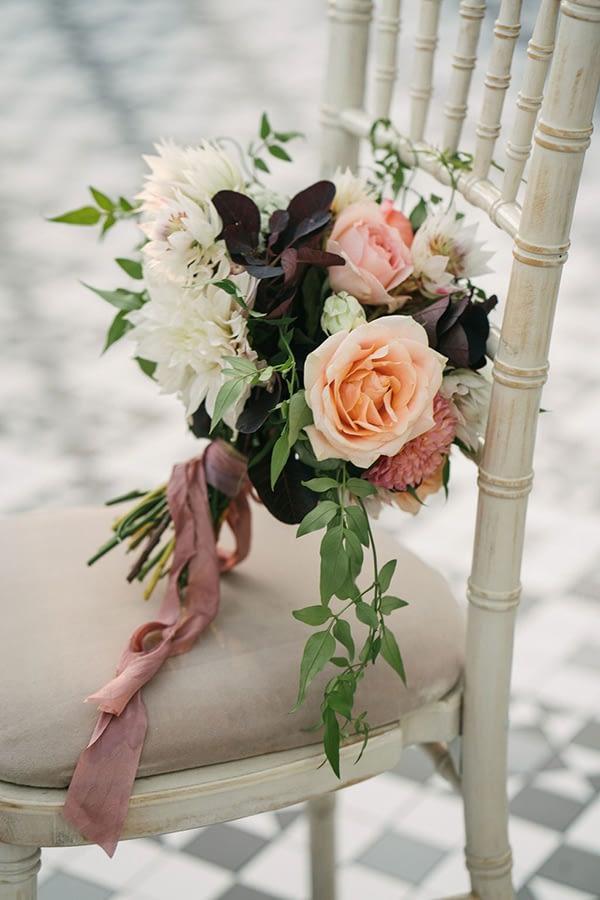 Autumnal Wedding Flowers Bridal Bouquet at Horniman Museum
